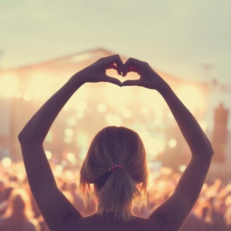 나는 음악 축제에서 살고 싶다